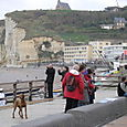 On the perry in Etretat