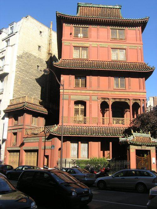 Pagoda in Paris